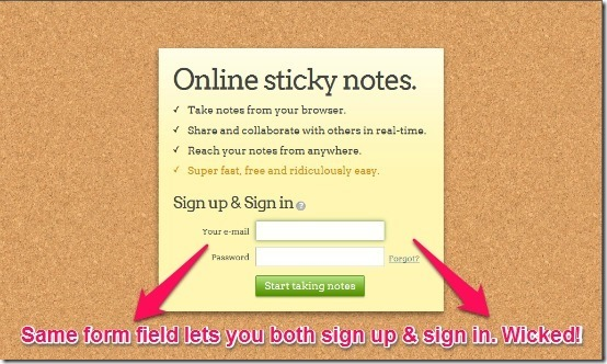 listhings main signup & signin