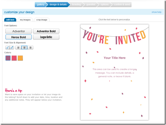 5 free websites to design online wedding invitations