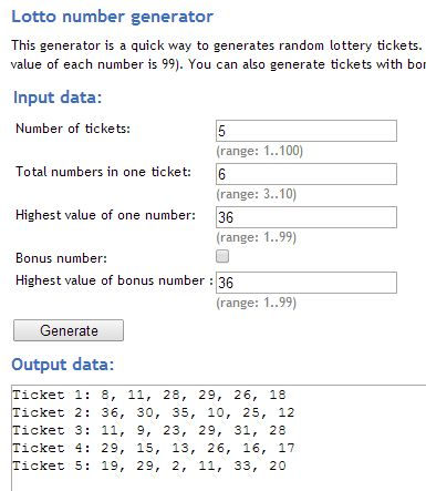 random number generator extensions google chrome-5