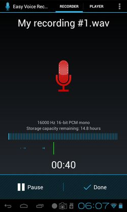 secret voice recorder apps android 4