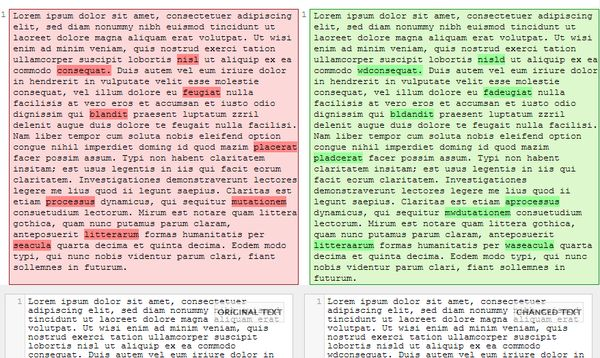 text comparison extensions google chrome-3