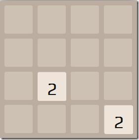 2048Desktop-Game Started