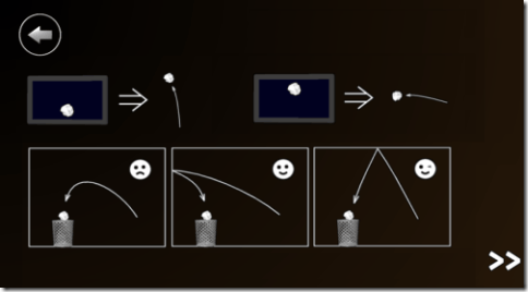 3D Paperball - Instruction Screen