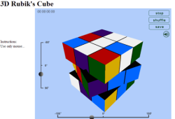 3D Rubik's Cube - Featured Image