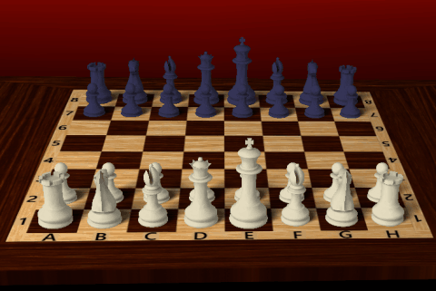 3D chess game - Chessboard