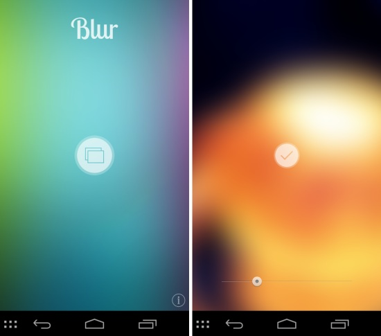 Add Blur Effect To Any Wallpaper with Blur App For Android