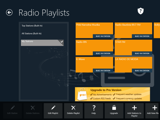 Alarm Clock Pro- Create your own Radio Playlist