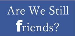 Are We Still Friends Friends App Icon