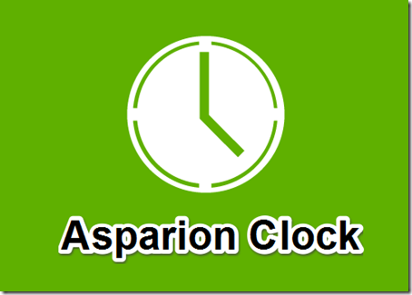 Asparion Clock