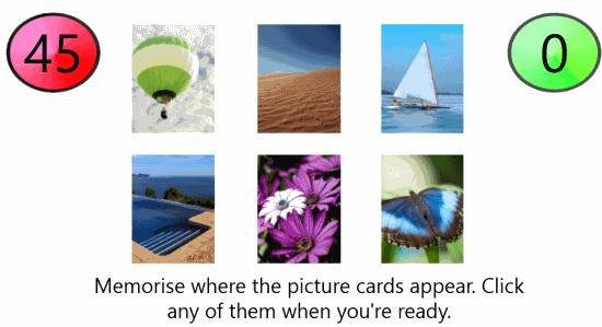 Brain Train Challenge-Find the card
