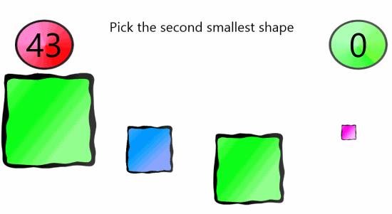 Brain Train Challenge-Relative size
