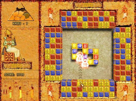 Brickshooter Game Interface 2