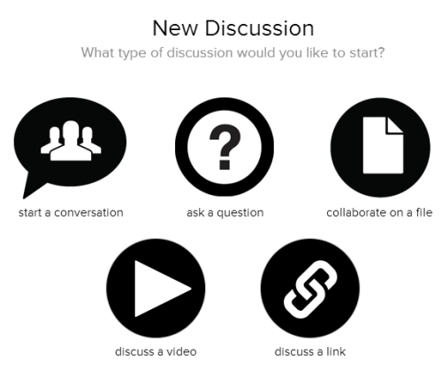 Chalkup Discussion options