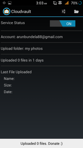 CloudVault Photo Uploader For Android Automatically Upload Photos to Google Drive