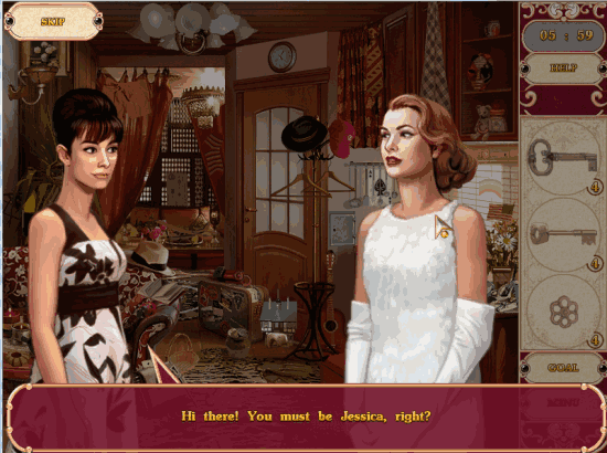 Detective Stories Hollywood Game story before start