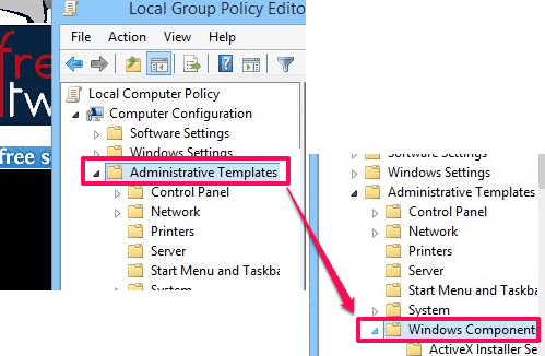 Disable Windows Store - Windows Component