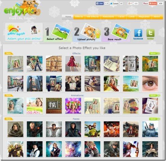 EnjoyPic-homepage