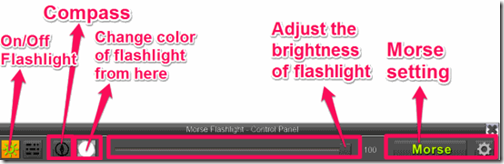 Flashlight-Different options