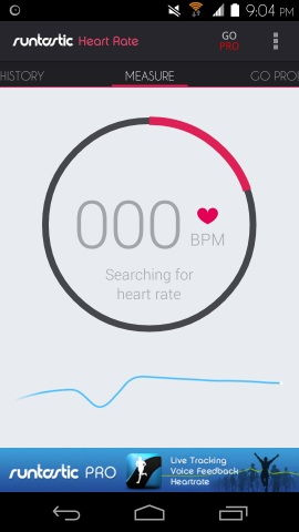 Free Heart Rate Monitor For Android Runtastic Heart Rate For Android
