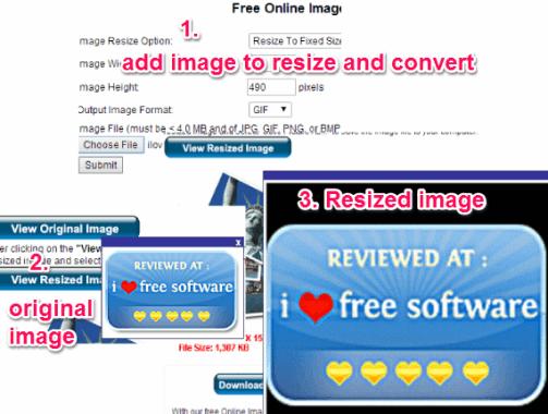 resize image online free