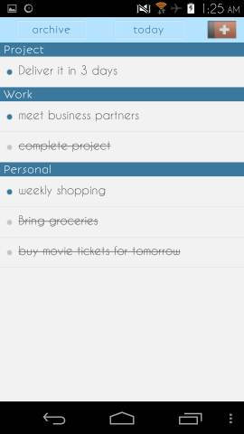 Free To Do List App For Android Aizon.me To-Do List For Android