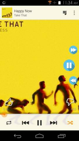 Get Slide Out Music Controls With SidePlayer For Android