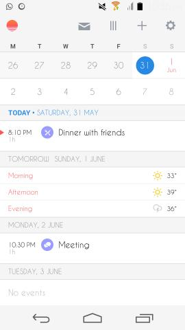 Get Sunrise Calendar for Android