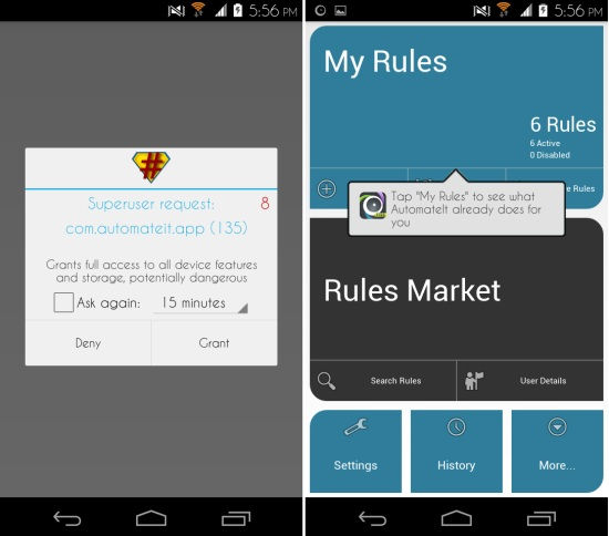 Getting AutomateIt for Android