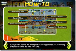 Head Soccer Controls