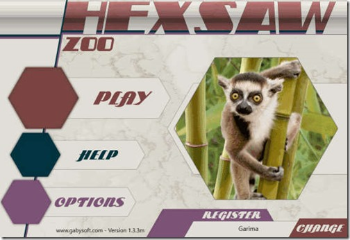HexSaw Zoo-Different options