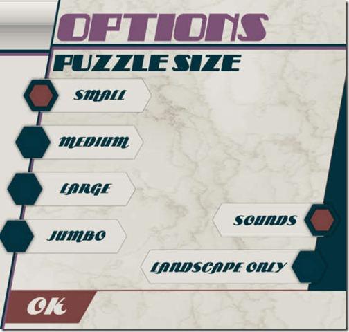 HexSaw Zoo- Options