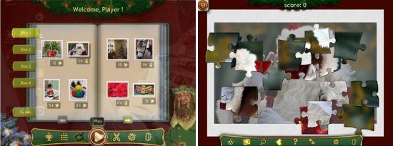 Holiday Jigsaw Christmas