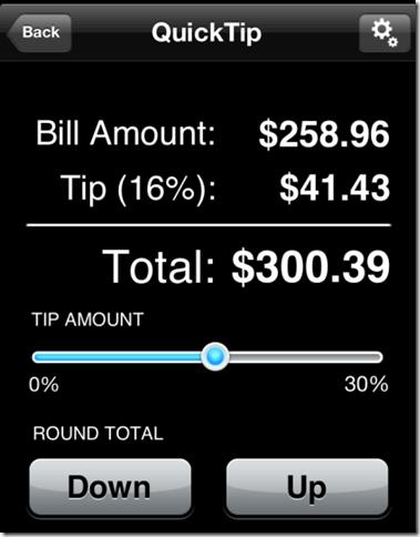 Tip Calculator % Free