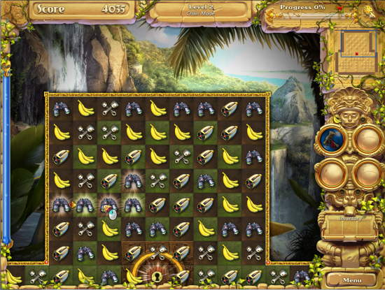 Lost Inca Prophecy 2 Game Interface