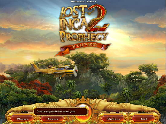 Lost Inca Prophecy 2 Game Starts