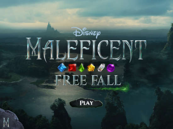 Maleficent Free Fall Home Page