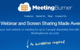 MeetingBurner- online meeting scheduler