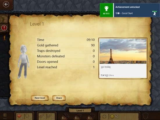Microsoft Treasure Hunt-Score