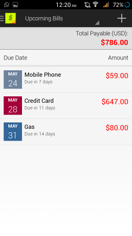 Never Miss Bill Due Dates With Bills Reminder Lite For Android