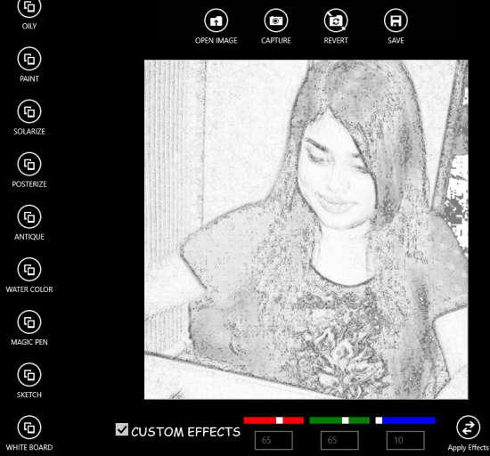 Photo Filter Pro-Sketch