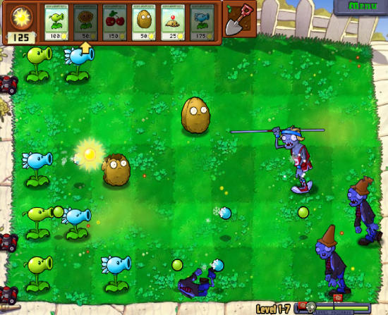 Plants Vs. Zombies Game Interface 2