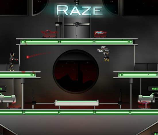 Raze Game Interface 2