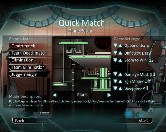 Raze Quick Match Modes