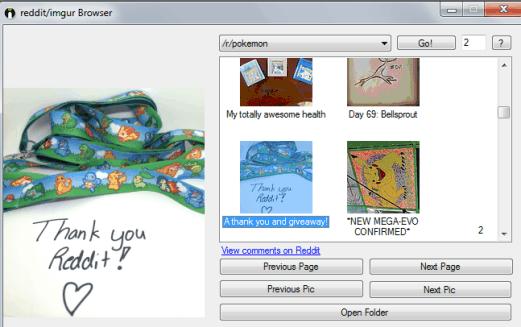 Reddit Imgur Browser Downloader