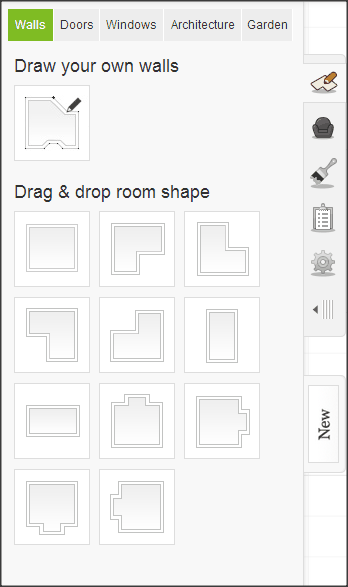 Roomstyler Layouts