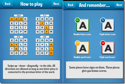Ruzzle Gameplay