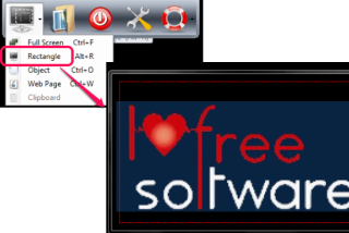 Screen Shot- screen capture software