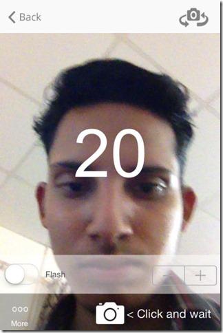 Selfie Timer Cam