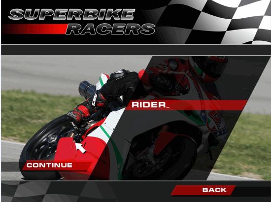 Superbikes Enter Player's Name