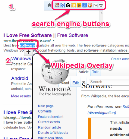 Firefox Addon to Add Different Search Engines on Navigation